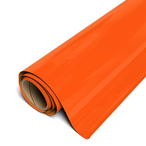 Siser EasyWeed Matte Orange HTV 11.8'x1yd Roll - Iron on Heat Transfer Vinyl