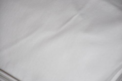 Stoff-ConneXion Bühnenmolton, weiß 300 cm breit, Länge wählbar bis 60 m, Preis lfd./m