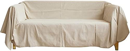 Sliyemo Funda de sofá de Color sólido, Cubiertas de sofá Gruesas de Lujo, Cubiertas de sofá seccional para 1 2 3 4 Sofá de Asiento Protector para Perros adecuados (Color : I, tamaño : 180 * 200cm)