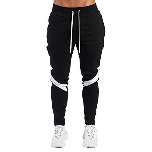 LeerKing Joggers Pantalones Deportivos para Hombre y Niños Pantalones de Chándal Ajustados...