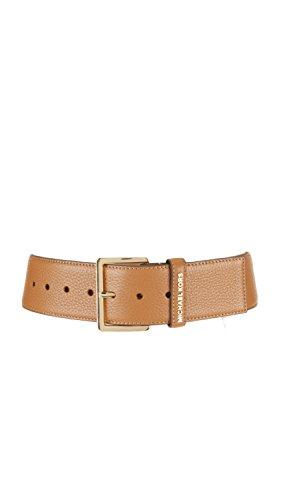 Michael Kors MICHAEL 552708 - Cinturón de piel para mujer Marrón marrón M/L
