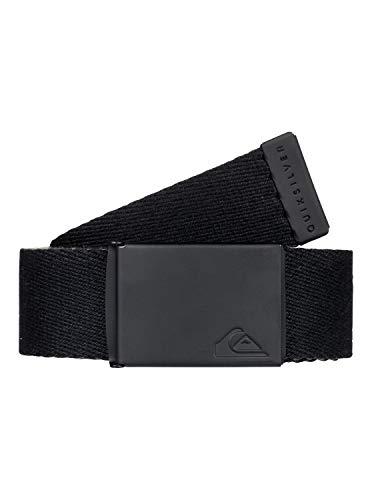 Quiksilver The Jam-Cinturón De Nailon Reversible, Hombre, Black, 1SZ
