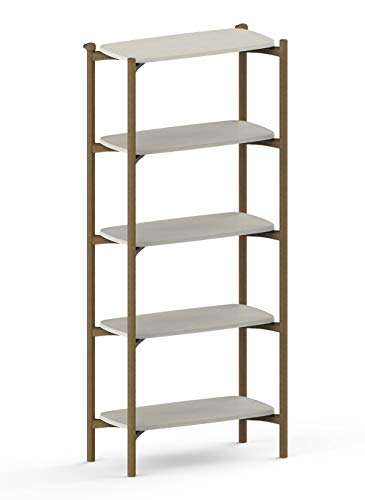 Keter Regal FOM 5 Regale im modernen Design aus recyceltem Kunststoff - perfekt für die Dekoration von Haus und Küche
