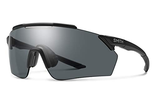 Smith Optics Ruckus ChromaPop - Gafas de sol, color negro mate y gris, talla única