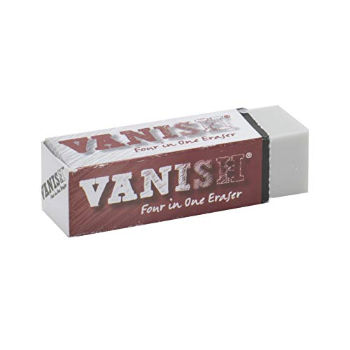 Vanish 4-in-1 Artist Eraser Replaces Gum Rubber Vinyl and Kneaded Erasers - Individual