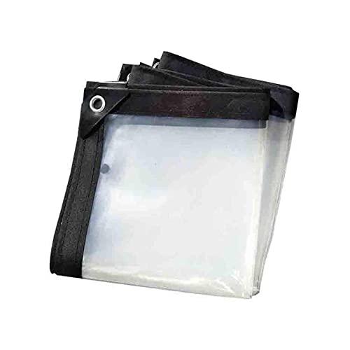 ZZYE Malla Sombreo Cubierta de Lona de Techo, Lona Transparente Transparente, Bordes Reforzados por múltiples propósitos Reforzados con Ojales/Reversibles Lona Toldo