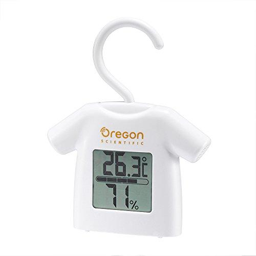 Oregon Scientific CHS0012/BOXB Thermo Hygro Blanc, 12, 8 x 10 x 2 cm