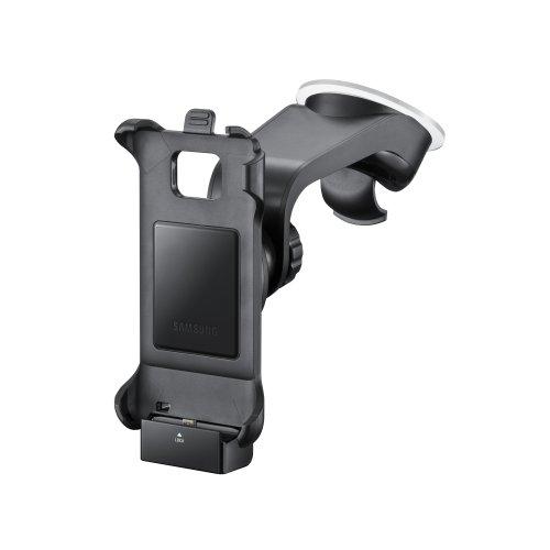 Samsung Original KFZ-Halterung inkl. Ladegerät/Gerätehalter und Saugfuß ECS-V1A2BEGSTD (kompatibel nur mit Galaxy S2) in schwarz