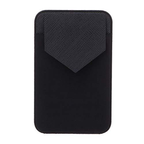LEJIA Carteira elástica para celular com suporte de cartão de crédito, capa adesiva de bolso