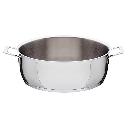 Alessi Pots&Pans - Cazuela de acero inoxidable (28 cm)