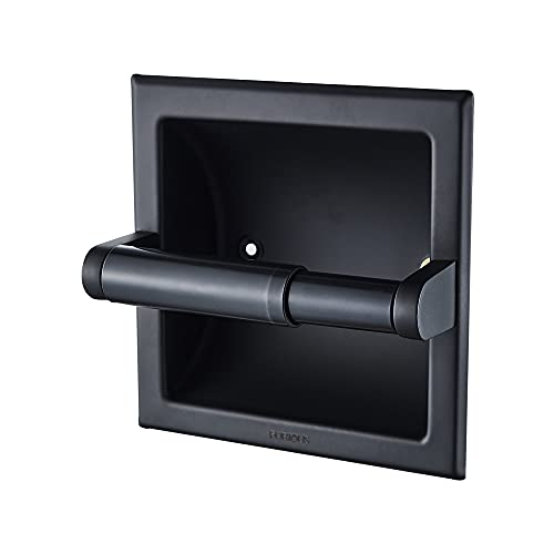 FORIOUS Recessed Toilet Paper Holder