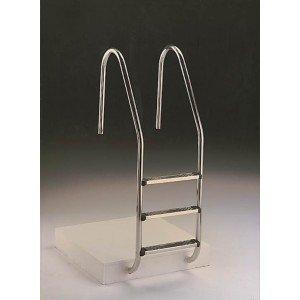 Astral – ladder voor zwembad, standaard, roestvrij staal, 4 treden