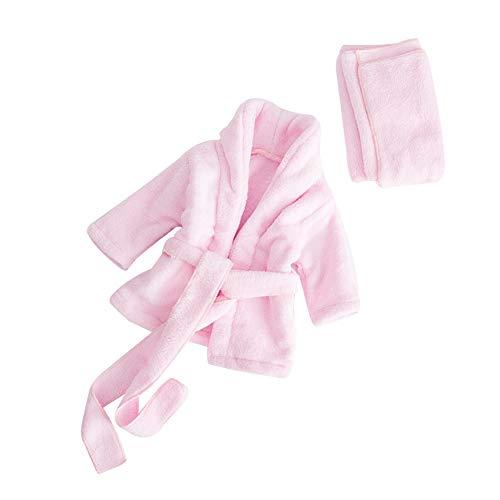 Ssowun Bébé Photographie Peignoir, Bébé Photo Pros Tapis de Photographie Bébé Pyjamas Newborn Photo Vêtements Shooting Accessoires