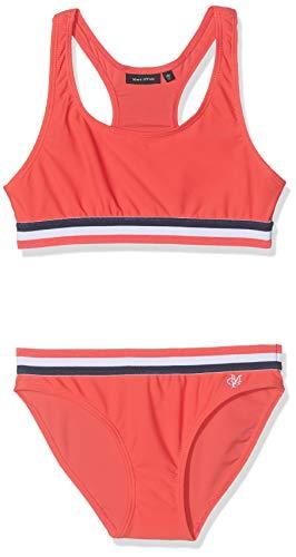 Marc O' Polo Kids Mädchen Bikini Badebekleidungsset, Rot (Cayenne|Red 2920), 146 (Herstellergröße: 146/152)
