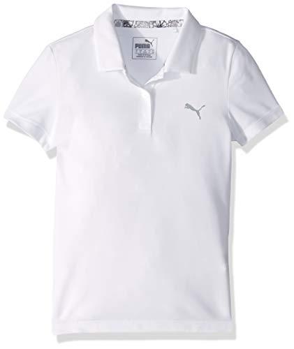 Puma Golf Girls 2019 Polo, Bright White, Small