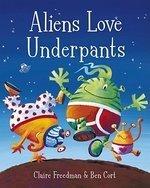Price comparison product image Claire Freedman & Ben Cort's Best Seller Collection RRP £21.98 (Dinosaurs Love Underpants,  Aliens Love Underpants)