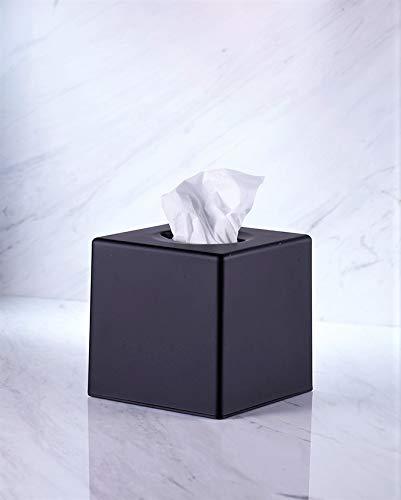 VINN DUNN CUBE tissue box Schwarz Quadratische Gewebe Schachtel Deckel Käfig , Kosmetiktuch ....