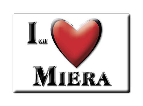 Enjoymagnets Miera (SN) imán Alemania recuerdo I Love idea regalo
