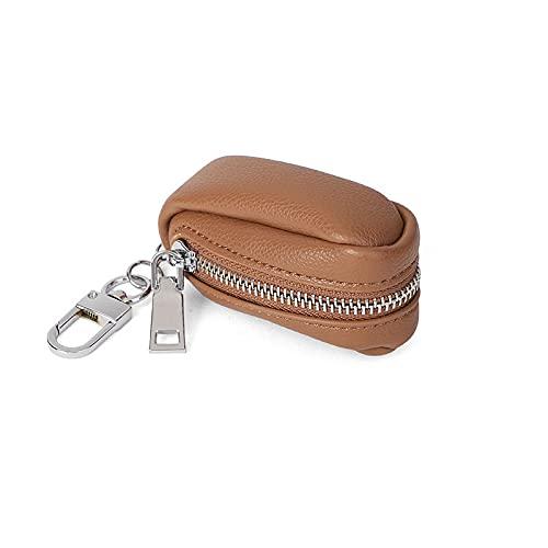 QIANJINGCQ Porte-monnaie femme compact multifonctionnel pièce rouge à lèvres sac rétro grande capacité porte-clés sac pendentif