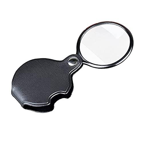 LUYIPINGQIWND Optische alte Lese-Handheld 5X Taschenlupe Faltbare Schmuck-Uhr-Lupe-Lupe-Reparatur-Tool