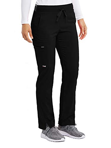 Grey's Anatomy Stretch GRSP500 Women's Kim Cargo Scrub Pant Black MP