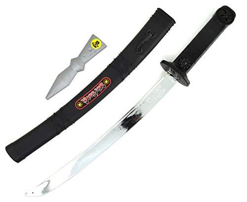 ARUNDEL SERVICES EU Espada Espada Samurai y Daga Accesorio Caballero de Juguete Juego de Espada Juguete Guerrero Espada Infantil Dragones Guerrero