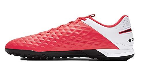 Nike Legend 8 Academy TF, Zapato De Fútbol Unisex Adulto, Carmesí Láser...