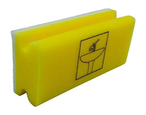 Piktogramm Schwamm Sanitär gelb