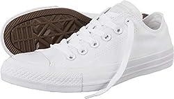 commercial Converse Chuck Taylor Men's White 8.5 Women's / 6.5 Men's lifting shoes