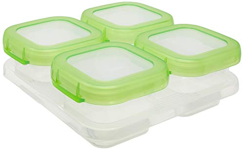 OXO Tot - Set de 4 recipientes para congelador (120 ml)