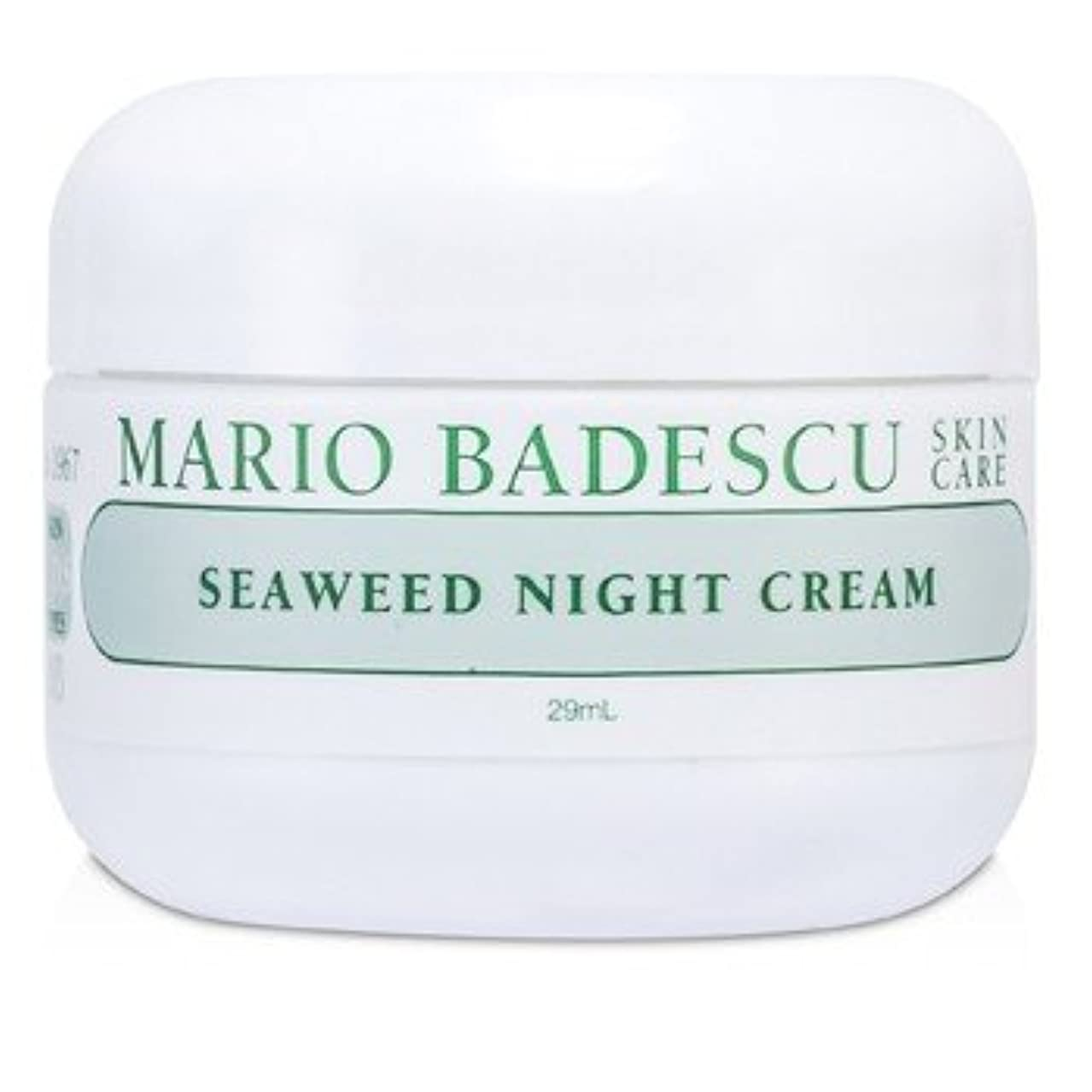 四回冒険者容量[Mario Badescu] Seaweed Night Cream - For Combination/ Oily/ Sensitive Skin Types 29ml/1oz