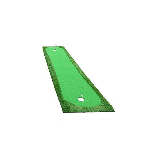X-L-H Golf Mat - Ejercitador de Putting para Interiores - Manta de Ejercicios Mini para el hogar - Golf Greens Size: 0.5/0.75/1.0x3m (Tamaño : A:0.5x3.0m)