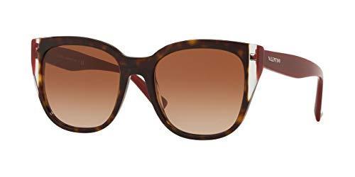 Valentino Gafas de Sol VA 4040 HAVANA/BROWN SHADED mujer