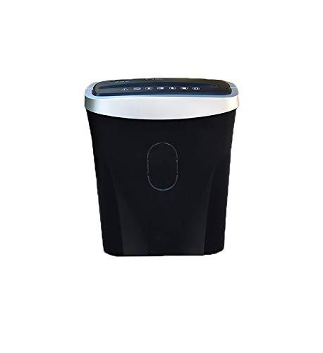 Best Buy! LQSZJ Mini Desktop Paper Micro Cross Cut Electric Shredder, 6 Sheets GDPR Compliant: Prote...