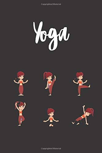 Yoga: A Journal Notebook to track progress, accomplishments, and obstacles with Yoga