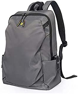 Asdfnfa Fashion Trend Backpack Travel Backpack Lightweight Casual Computer Backpack (Color : Gray)