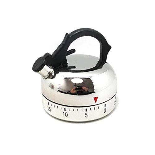 Homie 60 Minuten Küche Timer Alarm Mechanische Teekanne geformte Timer Uhr Zählwerkzeuge LAD