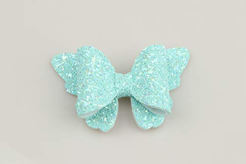 XIMA 10pcs Glitter Hair Bows Clips For Kids Girls Butterfly Hair Pin Accessoires Sparkly Bows Clips 10