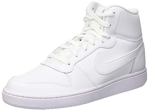 Nike Herren EBERNON MID Fitnessschuhe, Weiß White 100, Numeric_47 EU