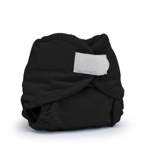 Rumparooz Gumball Couvre-couche lavable avec système de fermeture Aplix pour nourrisson Noir