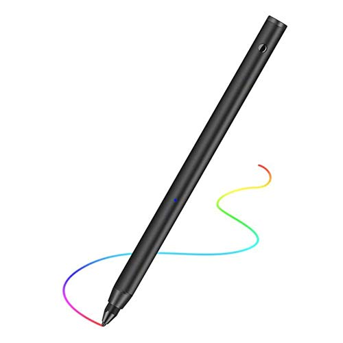 Pennino Stilo, Penna Stilo Regolabile Fine Tip Schermo dello Stilo Capacitivo ad Alta sensibilità Tocco della Matita per iPad/Samsung/Android Smartphone,A