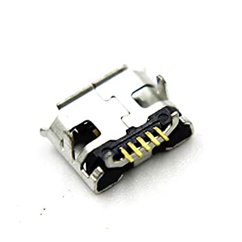 2X Micro USB Charging Port Charger Connector Module Replacement Compatible with JBL Flip 2 Bluetooth Speaker