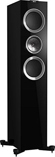 KEF - R700 Diffusori Acustici da Pavimento 3 vie Bass Reflex Colore Nero