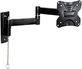 Master Mounts 2311L Locking RV TV Mount Lockable Full Motion TV Wall Mount Easy to Reach Chain Release Perfect for RVs Campers Trucks Mobile Homes, Articulates Swivels Tilts, Fits up to 42