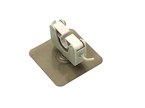 富士商 収納 アイテム 何度も貼れる ポールフック メタルグリーン 約縦9.4×横11×高さ7.4cm 傘 鍵 掃除道具 の収納に F0961