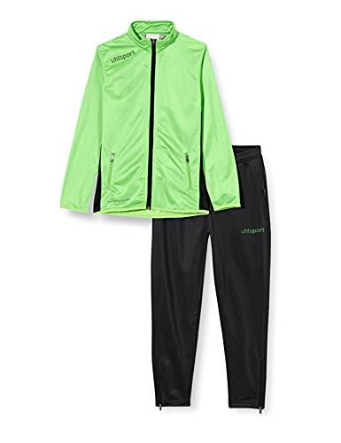 uhlsport Herren Essential Classic Anzug, Flash Grün/Schwarz, XL