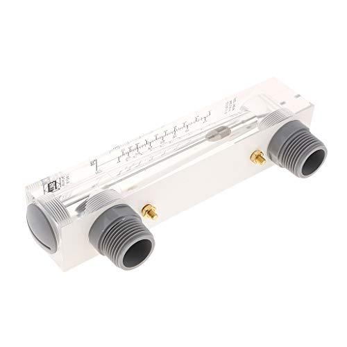 Sharplace Débitmètre Acrylique De Type De Bâti De Panneau De Lzm-25 1-10gpm