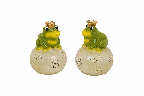 Spardose Frosch mit Krone Frosch Spardose