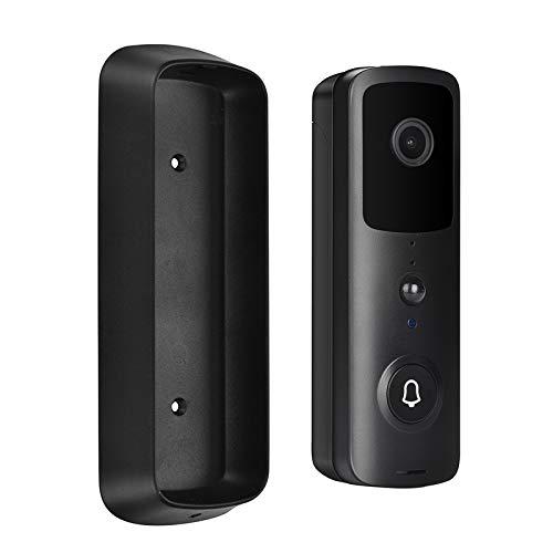 Video Türklingel mit Kamera, 1080P Überwachungskamera Doorbell Bewegungserkennung, Zwei Wege Gegensprechfunktion, WiFi...