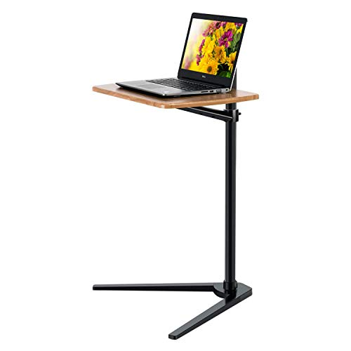 MagicHold Floor Stand for Laptop Aluminum Height Adjustable Table for Bed Sofa,Compatible with MacBook,Laptop Notebook,Tablets,iPad, Projector Camera